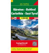 f&b Straßenkarten freytag & berndt Auto + Freizeitkarte, Kärnten - Osttirol 1:200.000 Freytag-Berndt und ARTARIA