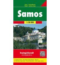 f&b Straßenkarten freytag & berndt Auto + Freizeitkarte Griechenland, Samos 1:50.000 Freytag-Berndt und ARTARIA