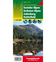 f&b Wanderkarten WK 212 Seetaler Alpen - Seckauer Alpen - Judenburg - Knittelfeld, Wanderkarte 1:50.000 Freytag-Berndt und ARTARIA