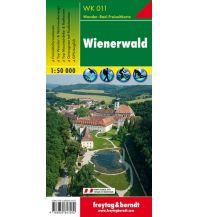 f&b Wanderkarten WK 011 Wienerwald, Wanderkarte 1:50.000 Freytag-Berndt und ARTARIA