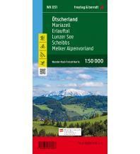 f&b Wanderkarten WK 031 Ötscherland - Mariazell - Erlauftal - Lunzer See - Scheibbs - Melker Alpenvorland, Wanderkarte 1:50.000 Freytag-Berndt und ARTARIA