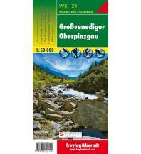 f&b Wanderkarten WK 121 Großvenediger - Oberpinzgau, Wanderkarte 1:50.000 Freytag-Berndt und ARTARIA