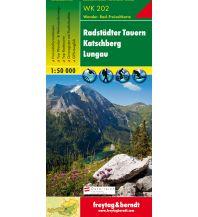 f&b Wanderkarten WK 202 Radstädter Tauern - Katschberg - Lungau, Wanderkarte 1:50.000 Freytag-Berndt und ARTARIA