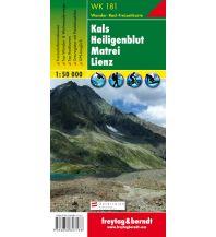 f&b Wanderkarten WK 181 Kals - Heiligenblut - Matrei - Lienz, Wanderkarte 1:50.000 Freytag-Berndt und ARTARIA