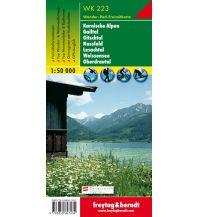 f&b Wanderkarten WK 223 Karnische Alpen - Gailtal - Gitschtal - Nassfeld - Lesachtal - Weissensee - Oberdrautal, Wanderkarte 1:50.000 Freytag-Berndt und ARTARIA