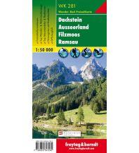f&b Wanderkarten WK 281 Dachstein - Ausseerland - Filzmoos - Ramsau, Wanderkarte 1:50.000 Freytag-Berndt und ARTARIA