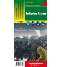 f&b Wanderkarten WK 141 Julische Alpen, Wanderkarte 1:50.000 Freytag-Berndt und ARTARIA