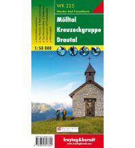 f&b Wanderkarten WK 225 Mölltal - Kreuzeckgruppe - Drautal, Wanderkarte 1:50.000 Freytag-Berndt und ARTARIA