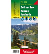 f&b Wanderkarten WK 382 Zell am See - Kaprun - Saalbach, Wanderkarte 1:50.000 Freytag-Berndt und ARTARIA