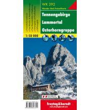 f&b Wanderkarten WK 392 Tennengebirge - Lammertal - Osterhorngruppe, Wanderkarte 1:50.000 Freytag-Berndt und ARTARIA