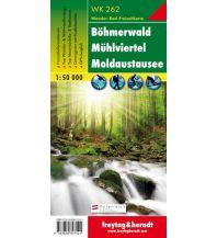 f&b Wanderkarten WK 262 Böhmerwald - Mühlviertel - Moldaustausee, Wanderkarte 1:50.000 Freytag-Berndt und ARTARIA