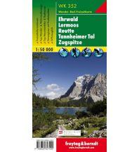f&b Wanderkarten WK 352 Ehrwald - Lermoos - Reutte - Tannheimer Tal, Wanderkarte 1:50.000 Freytag-Berndt und ARTARIA