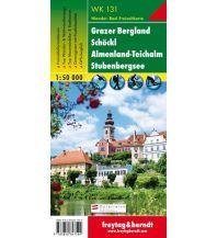 f&b Wanderkarten WK 131 Grazer Bergland - Schöckl - Teichalm - Stubenbergsee, Wanderkarte 1:50.000 Freytag-Berndt und ARTARIA