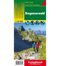 f&b Wanderkarten WK 364 Bregenzerwald, Wanderkarte 1:50.000 Freytag-Berndt und ARTARIA