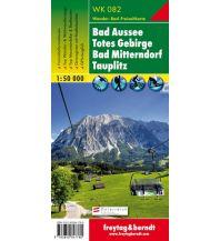 f&b Wanderkarten WK 082 Bad Aussee - Totes Gebirge - Bad Mitterndorf - Tauplitz, Wanderkarte 1:50.000 Freytag-Berndt und ARTARIA