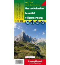 f&b Wanderkarten WK 182 Lienzer Dolomiten - Lesachtal - Villgratner Berge, Wanderkarte 1:50.000 Freytag-Berndt und ARTARIA