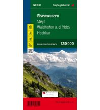 f&b Wanderkarten WK 051 Eisenwurzen - Steyr - Waidhofen a.d. Ybbs - Hochkar, Wanderkarte 1:50.000 Freytag-Berndt und ARTARIA