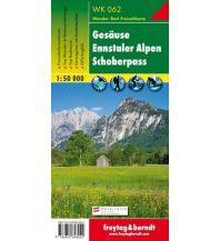 f&b Wanderkarten WK 062 Gesäuse - Ennstaler Alpen - Schoberpass, Wanderkarte 1:50.000 Freytag-Berndt und ARTARIA