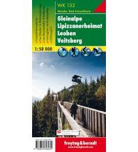 f&b Wanderkarten WK 132 Gleinalpe - Lipizzanerheimat -Leoben - Voitsberg, Wanderkarte 1:50.000 Freytag-Berndt und ARTARIA