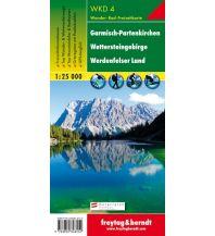 f&b Wanderkarten WK D 4 Garmisch-Partenkirchen - Wettersteingebirge - Werdenfelser Land, Wanderkarte 1:25.000 Freytag-Berndt und ARTARIA