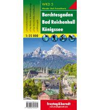 f&b Wanderkarten WK D5 Berchtesgaden - Bad Reichenhall - Königssee, Wanderkarte 1:25.000 Freytag-Berndt und ARTARIA
