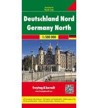 f&b Straßenkarten freytag & berndt Auto + Freizeitkarte Deutschland Nord 1:500.000 Freytag-Berndt und ARTARIA