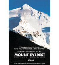 Wanderkarten Himalaya Swiss Foundation Hiking Map Mount Everest/Sagarmatha/Chomolangma 1:50.000 Schweizerische Stiftung f. Alpine Forschungen