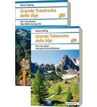 Weitwandern Grande Traversata delle Alpi (GTA), Teil 1 und 2: Nord und Süd Rotpunktverlag rpv
