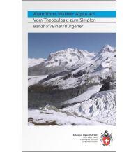 Wanderführer Alpinführer Walliser Alpen 4/5 Schweizer Alpin Club