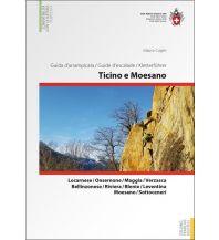 Sportkletterführer Schweiz Kletterführer Tessin und Misox/Ticino e Moesano Schweizer Alpin Club