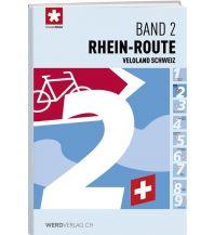 Radführer Veloland Schweiz, Band 2, Rhein-Route Werd Verlag Zürich