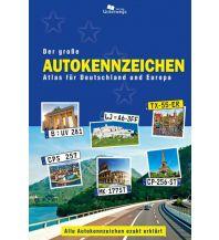 Reiseführer Der große Autokennzeichen Atlas für Deutschland und Europa Unterwegsverlag Manfred Klemann