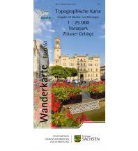 Topographische Karte Sachsen 51 - Naturpark Zittauer Gebirge 1:25.000 Landesamtvermessungsamt Sachsen
