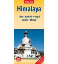 Straßenkarten Asien Nelles Map Himalaya Nelles-Verlag
