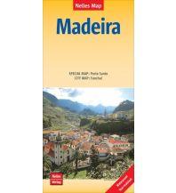 Straßenkarten Nelles Maps Madeira, Polyart-Ausgabe Nelles-Verlag