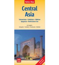 Straßenkarten Asien Nelles Maps Central Asia Nelles-Verlag