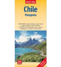 Straßenkarten Nelles Map Landkarte Chile - Patagonia Nelles-Verlag