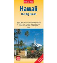 Nelles Map Landkarte Hawaii: The Big Island | Hawaii: Grande Île | Hawái: La Gran Isla Nelles-Verlag