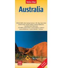 Nelles Map Landkarte Australia Nelles-Verlag