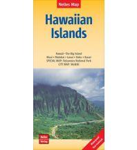 Nelles Map Landkarte Hawaiian Islands Nelles-Verlag