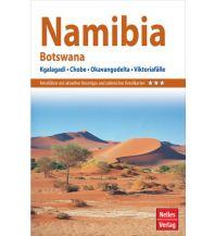 Nelles Guide Reiseführer Namibia - Botswana Nelles-Verlag