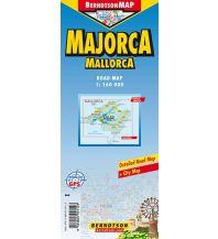 Straßenkarten Spanien Mallorca/Majorca Berndtson & Berndtson Verlag-Publications OHG