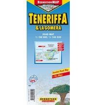 Straßenkarten Spanien Teneriffa & La Gomera/Tenerife & La Gomera Berndtson & Berndtson Verlag-Publications OHG