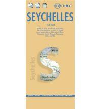 Straßenkarten Asien Seychellen Borch GmbH