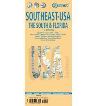 Straßenkarten Southeast-USA - The South & Florida Borch GmbH