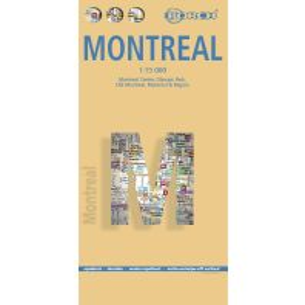 Stadtpläne Montreal Berndtson & Berndtson Verlag-Publications OHG