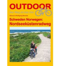 Radführer Outdoor-Handbuch 228, Schweden & Norwegen: Nordseeküstenradweg Conrad Stein Verlag