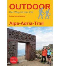 Weitwandern Outdoor Handbuch 420, Alpe-Adria-Trail Conrad Stein Verlag