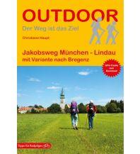 Weitwandern Outdoor-Handbuch 187, Jakobsweg München - Lindau Conrad Stein Verlag