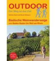 Weitwandern Outdoor Handbuch 434, Badische Weinwanderwege Conrad Stein Verlag